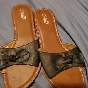Shoes - Black slides